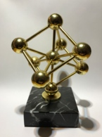 Objet Souvenir Expo 58. Statuette Atomium. - Obj. 'Souvenir De'