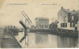 COURCELLES-MOTTE : Pont De La Ferté - RARE CPA - Cachet De La Poste 1912 - Courcelles