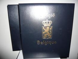 ALBUM DAVO LUXE  + FEUILLES DAVO LUXE BELGIQUE 1970/84 (vol. III) +  ETUI - Albums & Reliures
