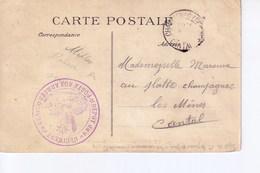 Sur CP De Versailles  Cachet Dépot Du 1er Régiment Du Génie  Poste Aux Armées - France