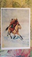"""Shwarz """"Archer"""". Old Postcard 1962 - Arch - Horse - Tir à L'Arc"""