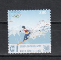 Armenia Armenien MNH** 2018 Winter Olympic Games In Pyeongchang  Mi 1065 - Armenien
