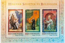 Hungary - 2018 - Hungarian Saints And Blesseds VI - Special Souvenir Sheet With Diffractive Film Printing - Hungría
