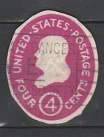 """Etats-Unis : Ancien Entier Postal """" 4 Cents """" - Sonstige"""
