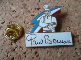 PIN'S    PAUL  BOCUSE  CUISINE CUISINIER  TOQUE - Alimentation