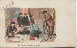 CHOCOLAT LOUIT  LE CAMELOT MARCHAND DE JOUET - Advertising