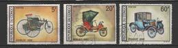 "CONGO ; N° 220-221-222- "" AUTOMOBILES ANCIENNES"" - Congo - Brazzaville"