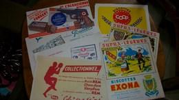 Buvard Publicitaire Lot De 7 Différents - Buvards, Protège-cahiers Illustrés