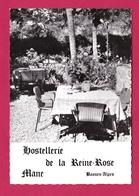 04 - MANE -  HOSTELLERIE DE LA REINE ROSE - France