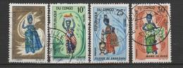 "CONGO ; N° 207/210  "" POUPEES DIVERSES "" - Congo - Brazzaville"
