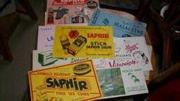 Buvard Publicitaire Lot De 10 Différents - Buvards, Protège-cahiers Illustrés