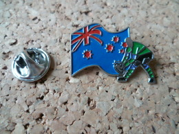 PIN'S     RUGBY  AUSTRALIE  DRAPEAU  FLAG - Rugby