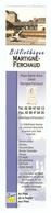 MARQUE PAGE - BIBLIOTHEQUE MARTIGNÉ FERCHAUD ILLE ET VILAINE - AU PAYS DE LA ROCHE AUX FÉES - Marque-Pages