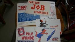 Buvard Publicitaire Lot De 9 - Buvards, Protège-cahiers Illustrés