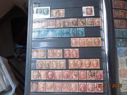 Lot Intéressant De Timbres De La Grande-Bretagne (les Indes Anglaises Ont été Séparées) - Briefmarken