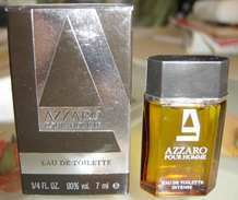 AZZARO POUR HOMME - EDT 7 ML De LORIS AZZARO - Miniatures Hommes (avec Boite)