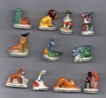 SERIE Complète 11 Fèves PERSO -   LES FABLES DE LA FONTAINE 2006 - Animals