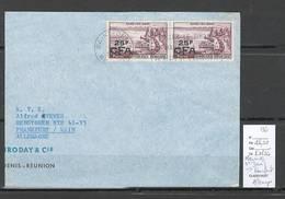 Reunion - Lettre De Saint Denis Pour Francfort - Allemagne - 1961 - Reunion Island (1852-1975)