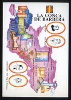 *La Conca De Barberà* Congrès Cultura Catalana 1977. Campanya Identificació Del Territori. - Mapas