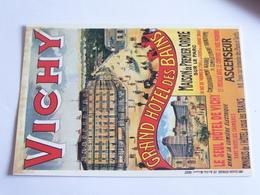 Nugeron - Vichy - Grand Hotel Des Bains - Advertising