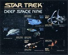 Bloc Sheet Star Trek Deep Space Nine Neuf MNH ** Palau 2015 - Timbres