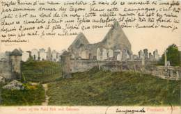 UK - Scotland - Ayrshire - Prestwick - Ruins Of The Auld Kirk And Gateway In 1907 - Ayrshire