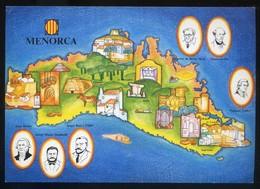 *Menorca* Congrès Cultura Catalana 1977. Campanya Identificació Del Territori. Nueva. - Mapas