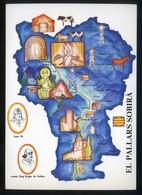 *El Pallars Sobirà* Congrès Cultura Catalana 1977. Campanya Identificació Del Territori. Nueva. - Mapas