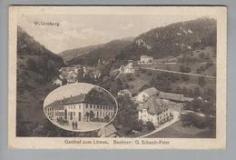 AK CH BL Waldenburg 1919-05-23 Gasthof Zum Löwen G.Metz - BL Bâle-Campagne