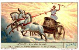 Chromo Liebig  APOLLON - 4  LE CHAR DU SOLEIL - Liebig