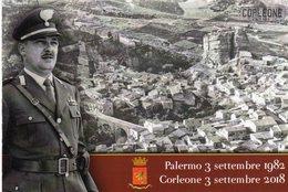 Corleone (PA)  2018 - Corleone Ricorda Carlo Alberto Dalla Chiesa - - Patriotiques
