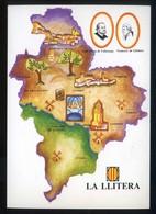 *La Llitera* Congrès Cultura Catalana 1977. Campanya Identificació Del Territori. Nueva. - Mapas