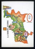 *La Ribera D'Ebre* Congrès Cultura Catalana 1977. Campanya Identificació Del Territori. Nueva. - Mapas