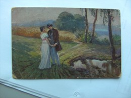 Peinture Painting Ad Liebscher Liebesfrühling - Schilderijen