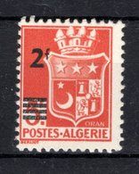 Algérie 1943 N°197 Neuf Sans Charnière - Unused Stamps