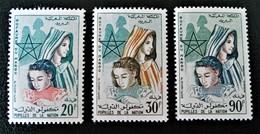 PUPILLES DE LA NATION 1962 - NEUFS * - YT 431/33 - MI 485/87 - Marokko (1956-...)