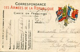 Soldat écrit à Demoiselle De FRESNOY LA RIVIERE Carte Correspondance Militaire - France