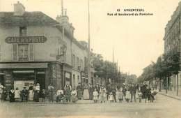 VAL D'OISE ARGENTEUIL  Rue Et Boulevard De Pontoise - Argenteuil