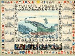 Ascoli Piceno 2011 - 150° Anniversario Dell'Unità D'Italia - Antica Cartografia D'Italia - - Storia