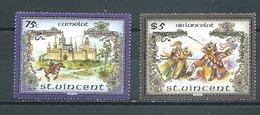 SAINT-VINCENT   Yvert  N° 964 Et 968 ** - St.Vincent (1979-...)