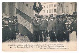 CPA : NAMUR - Jubilé De M. Le Gouverneur Baron De Montpellier 27 Juin 1909 - Le Drapeau De 1830 Vedrin - Namur