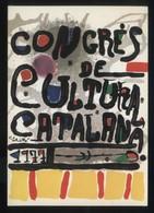 Congrès Cultura Catalana 1977. Campanya Llengua, Etc. Lot 21 Postals Diferents. - Eventos