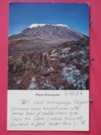 Kenya - Mount Kilimanjaro - 1968 - Scans Recto-verso - Kenya