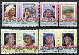 Tuvalu - Nanumaga - Serie - 85 Ans De La Reine-mère Elizabeth - . - Tuvalu
