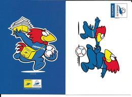 FOOTBALL - COUPE DU MONDE FRANCE 1998 - 98 - FOOTIX - WORLD CUP - 2 CP - Football