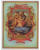 Ref. 163162 * MNH * - AITUTAKI. 1991. NAVIDAD - PINTURAS - Aitutaki