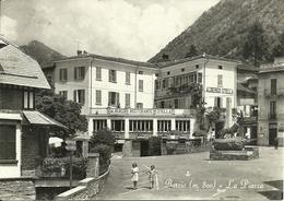 """Barzio (Lecco) Piazza E Albergo Ristorante """"Stella"""" - Lecco"""