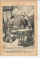 Presse 1906 Publicité Machine à Coudre New Home Au Palais Du Mikado Empereur Et Impératrice Du Japon Mutsuhito ? 223CH10 - Ohne Zuordnung