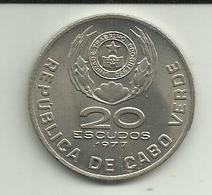 20 Escudos 1977 Cabo Verde - Cap Vert