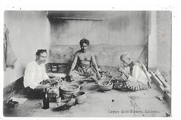 CEYLON  ( Sri Lanka )   Gold Workers - COLOMBO  -  L 1- ## RARE ## - Sri Lanka (Ceylon)